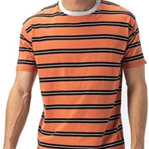 Zanerobe Cotton Striped Tee Shirt L